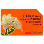 The Phonecard Shop: Italy, Il giglio, 31.12.2000, L.5000