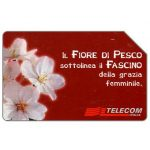 Phonecard for sale: Il Fiore di Pesco, 30.06.2001, L.15000