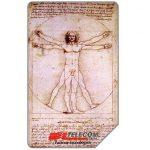 The Phonecard Shop: Italy, Da Leonardo a Canaletto, 30.06.2001, L.10000