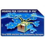 Phonecard for sale: Parlamento Europeo, Insieme, 30.06.2001, L.5000