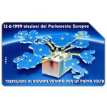Phonecard for sale: Parlamento Europeo, Tremilioni di giovani, 30.06.2001, L.5000