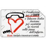 The Phonecard Shop: Italy, Fondazione per il Cuore, 30.06.2001, L.5000