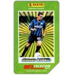The Phonecard Shop: I grandi acquisti 1998-99, Roberto Baggio, 30.06.2001, L.5000
