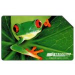 The Phonecard Shop: Animali per modo di dire, frog, 30.06.2001, L.5000