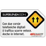 Phonecard for sale: Super Linea ISDN, 31.12.2001, L.5000