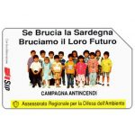 The Phonecard Shop: Sardegna, Campagna Antincendi, Omaggio (complimentary)