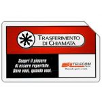 Phonecard for sale: Trasferimento di chiamata, 31.12.2001, L.5000