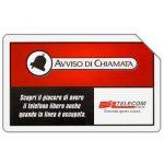 The Phonecard Shop: Italy, Avviso di chiamata, 31.12.2001, L.5000
