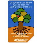 The Phonecard Shop: Italy, Unicef, 31.12.2001, L.5000