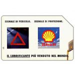 Phonecard for sale: Shell Lubrificanti, Omaggio (complimentary)