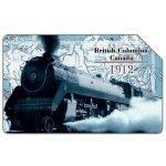 The Phonecard Shop: I treni di ieri, British Columbia Canada 1912, 31.12.2001, L.5000