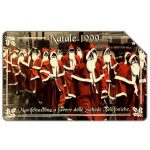 The Phonecard Shop: Italy, Natale 1999, 31.12.2001, L.5000