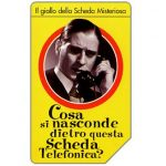 The Phonecard Shop: Italy, La scheda misteriosa, 31.12.2001, L.10000