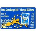 The Phonecard Shop: Italy, Prima Carta Europa ECU, Alto Adige, 31.12.94, L.5000