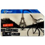 The Phonecard Shop: Capitali dell'Euro, Parigi, 31.12.2001, L.5000