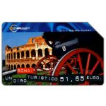Phonecard for sale: Capitali dell'Euro, Roma, 31.12.2001, L.15000