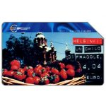 The Phonecard Shop: Capitali dell'Euro, Helsinki, 31.12.2001, L.5000