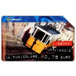 The Phonecard Shop: Capitali dell'Euro, Lisbona, 31.12.2001, L.5000