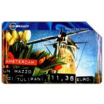 The Phonecard Shop: Italy, Capitali dell'Euro, Amsterdam, 30.06.2002, L.5000