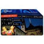 The Phonecard Shop: Italy, Capitali dell'Euro, Lussemburgo, 30.06.2002, L.10000