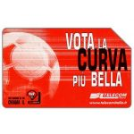The Phonecard Shop: Italy, Vota la curva più bella, 30.06.2002, L.5000