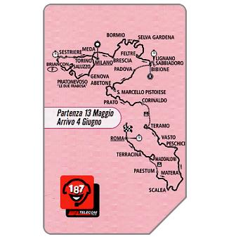 The Phonecard Shop: 83° Giro d'Italia, 30.06.2002, L.5000