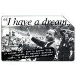 The Phonecard Shop: Italy, Martin Luther King, 30.06.2002, L.5000