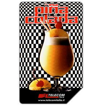 Phonecard for sale: Pina Colada, 30.06.2002, L.5000