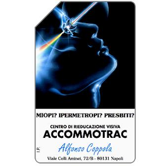 Phonecard for sale: Accomotrac, 30.06.96, L.2000
