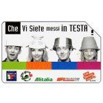 The Phonecard Shop: Italy, Che vi siete messi in testa?, 30.06.2002, L.5000