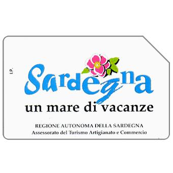 Phonecard for sale: Sardegna un mare di vacanze, 30.06.96, L.2000