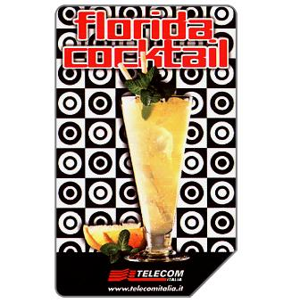 Phonecard for sale: Florida cocktail, 31.12.2002, L.5000
