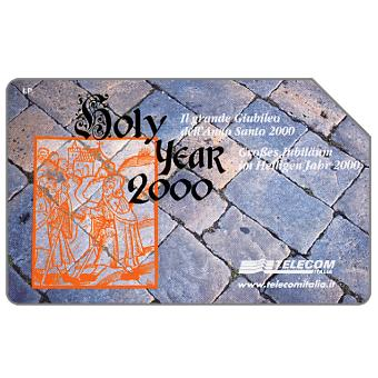 Phonecard for sale: Holy Year 2000, Alto Adige, 31.12.2002, L.10000