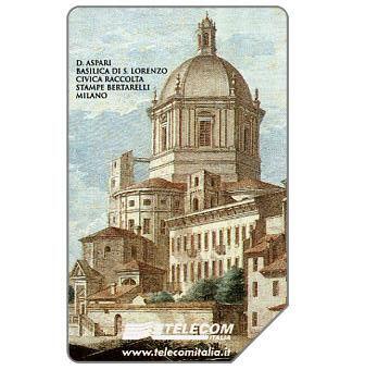Phonecard for sale: Basilica di San Lorenzo, 31.12.2002, L.10000