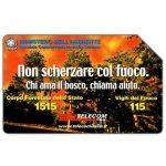 The Phonecard Shop: Italy, Non scherzare col fuoco, 31.12.2002, L.5000