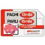 The Phonecard Shop: Italy, Offertissima 13x15, 31.12.2002, L.15000