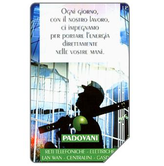 Phonecard for sale: Padovani, 31.12.98, L.5000