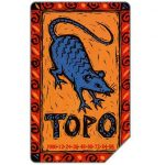 The Phonecard Shop: Italy, Zodiaco Cinese, Topo, 30.06.2003, L.5000