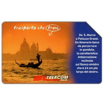 Phonecard for sale: Paese che vai... Venezia, 31.12.2003, L.5000