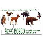 The Phonecard Shop: Italy, Animali del bosco, 31.12.2004, € 5,00