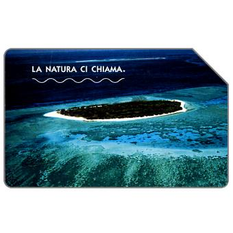 Phonecard for sale: La natura ci chiama, Grande Barriera Corallina, 31.12.2004, € 2,50