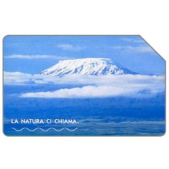 Phonecard for sale: La natura ci chiama, Kilimanjaro, 31.12.2004, € 2,50