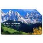 The Phonecard Shop: La natura ci chiama, Le Dolomiti, 31.12.2004, € 2,50
