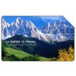 The Phonecard Shop: Italy, La natura ci chiama, Le Dolomiti, 31.12.2004, € 2,50