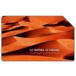 The Phonecard Shop: Italy, La natura ci chiama, Il Sahara, 31.12.2004, € 5,00