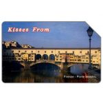 The Phonecard Shop: Kisses from Firenze, 31.12.2003, L.5000