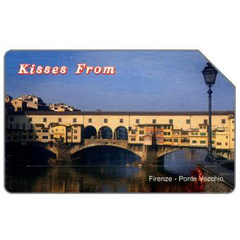 Phonecard for sale: Kisses from Firenze, 31.12.2003, L.5000