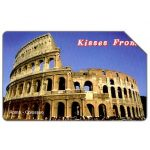 The Phonecard Shop: Kisses from Roma, 31.12.2004, € 5,00