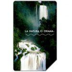 The Phonecard Shop: Italy, La natura ci chiama, La cascata delle Marmore, 31.12.2004, € 5,00