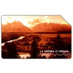 Phonecard for sale: La natura ci chiama, Grand Teton, 30.06.2004, € 3,00